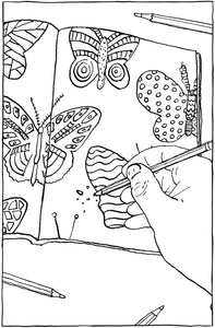 Annoying Life Mindless Adult Coloring Book
