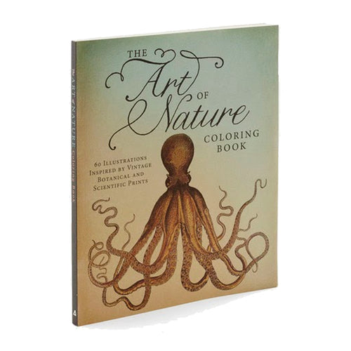 Art of Nature Adult Coloring Book