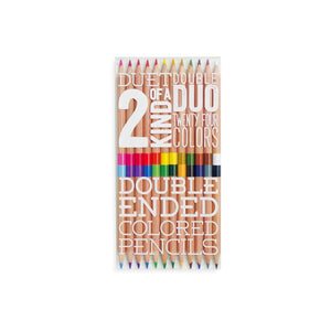 Two of a Kind Colored Pencils Set