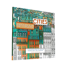 Load image into Gallery viewer, Fantastic Cities: Amazing Places Real and Imagined Adult Coloring Book