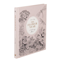 Load image into Gallery viewer, The Flower Year: A Coloring Book