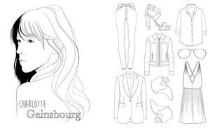 Mode Parisienne: A Fashion Coloring Book