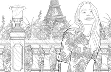 Load image into Gallery viewer, Mode Parisienne: A Fashion Coloring Book