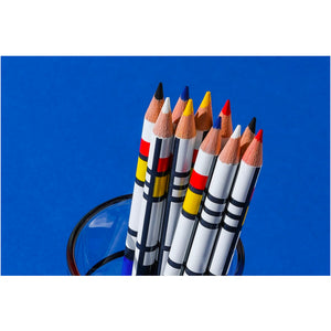 Mondrian Colored Pencils Set