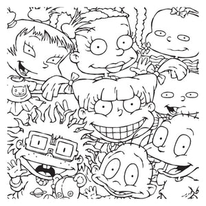Nickelodeon Adult Coloring Book