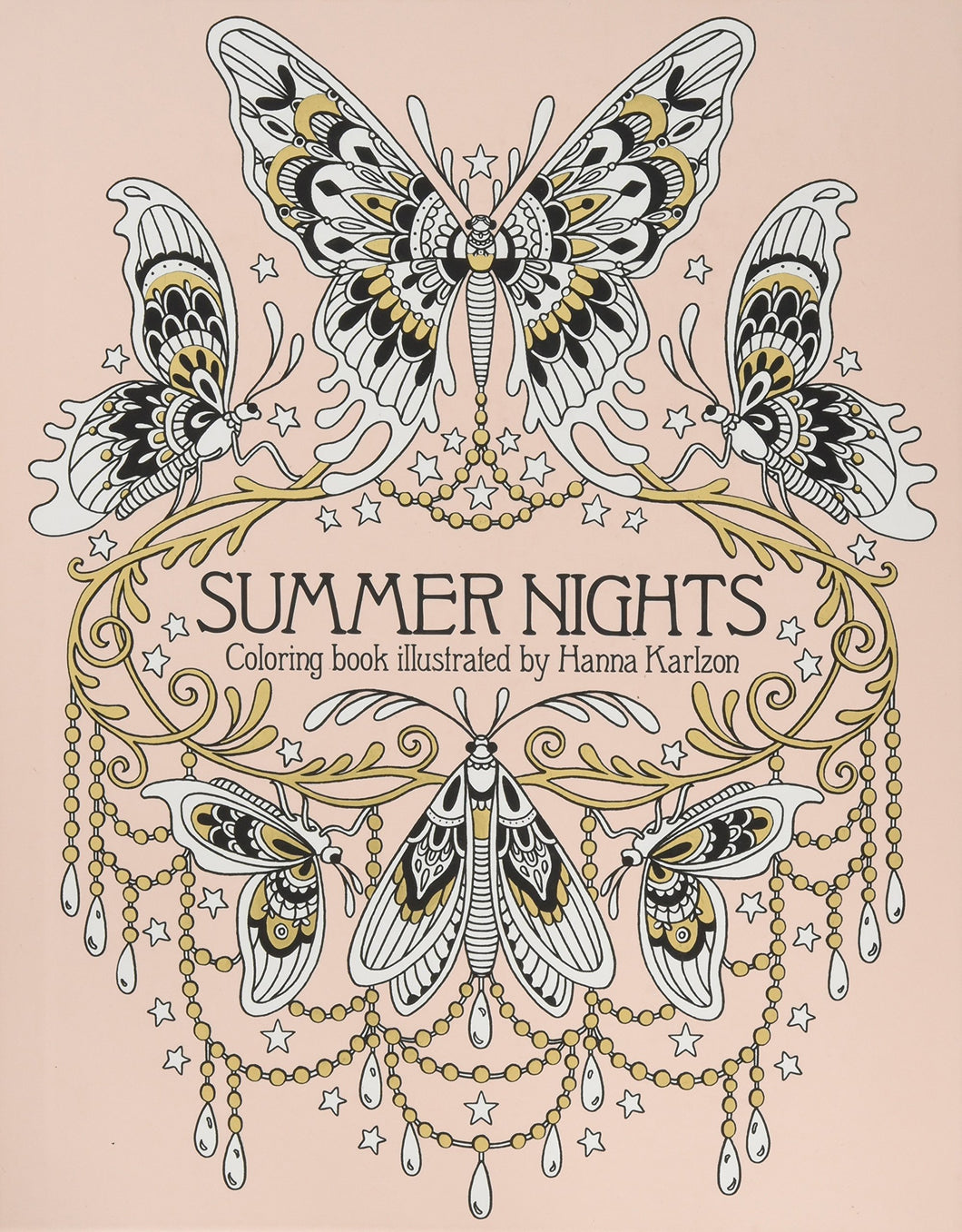 Summer Nights Adult Coloring Book