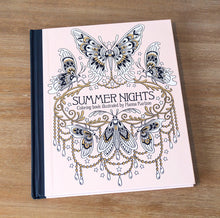 Load image into Gallery viewer, Summer Nights Adult Coloring Book