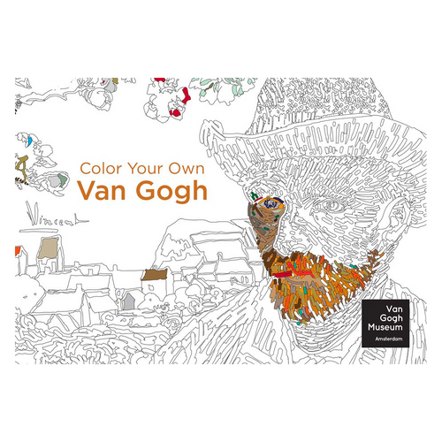 Color Your Own Van Gogh Adult Coloring Books Colourly