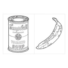 Load image into Gallery viewer, Andy Warhol Adult Coloring Book Coloring Pages