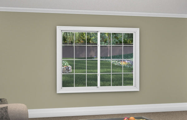 Slider / Glider Window - Installed - Home Built 1977 or BEFORE - Triple Pane - WindowWire