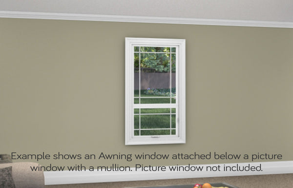 Awning Window - Installed - Home Built 1977 or BEFORE - Not Energy Star - WindowWire