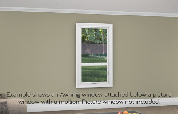Awning Window - Installed - Home Built 1978 or AFTER - Triple Pane - WindowWire