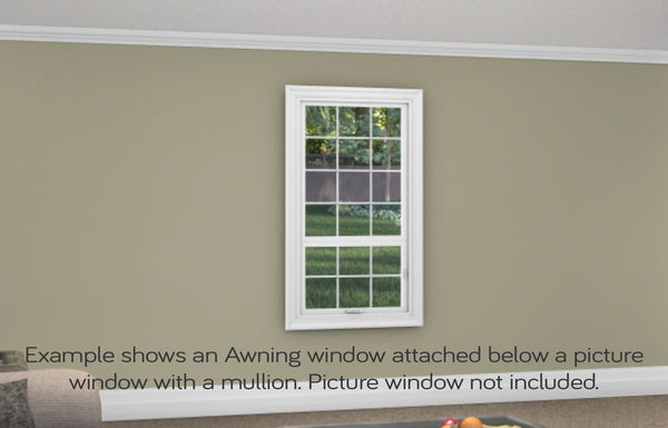 Awning Window - Installed - Home Built 1977 or BEFORE - Triple Pane - WindowWire
