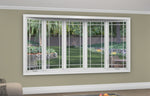 5 Lite Bow Window - Installed - Home Built 1977 or BEFORE - Triple Pane - WindowWire