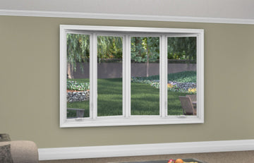 4 Lite Bow Window - Installed - Home Built 1977 or BEFORE - Not Energy Star