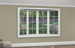 4 Lite Bow Window - Installed - Home Built 1977 or BEFORE - Triple Pane - WindowWire
