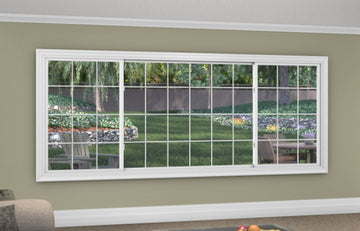 3 Lite Slider / Glider Window - Installed - Home Built 1977 or BEFORE - Not Energy Star