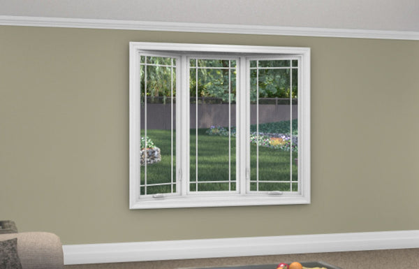 3 Lite Bow Window - Installed - Home Built 1978 or AFTER - Triple Pane - WindowWire