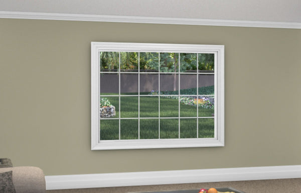 Picture Window - Installed - Home Built 1977 or BEFORE - Triple Pane - WindowWire