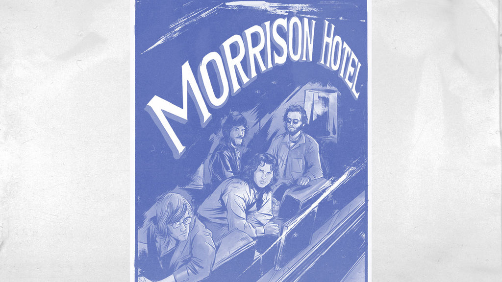 ROCK LEGENDS 'THE DOORS' CELEBRATE 50TH ANNIVERSARY OF MORRISON HOTEL WITH GRAPHIC NOVEL