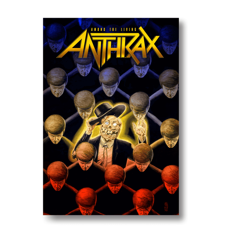 Anthrax - Among The Living Graphic Novel