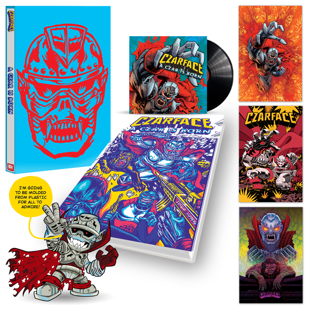 Czarface: A Czar is Born Graphic Novel