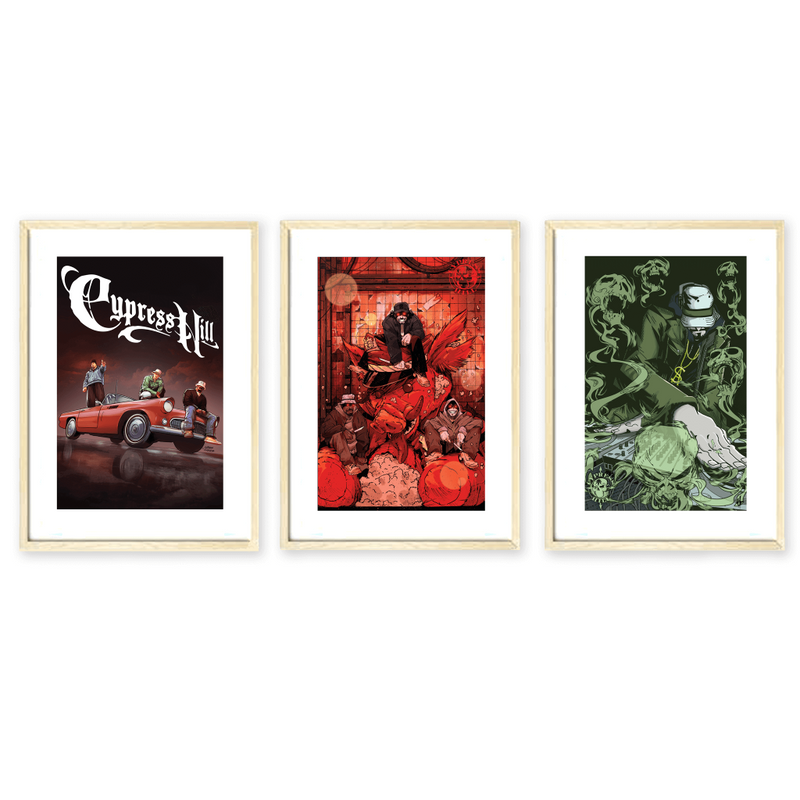 Cypress Hill: Tres Equis Graphic Novel