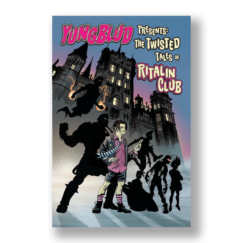 YUNGBLUD - The Twisted Tales of The Ritalin Club (Standard Edition)