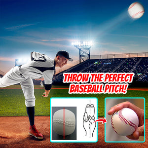 HomeRunner Flat-Sided Pitcher Training Baseball
