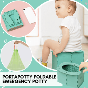 PortaPotty Foldable Emergency Potty