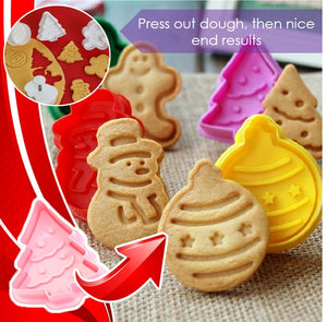 YumPastry 3D Cookies Stamp Plunger