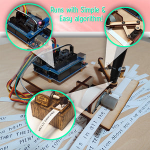 TeleWrite Mini DIY Writing Robot