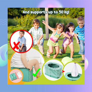 InfantCare Portable Emergency Potty