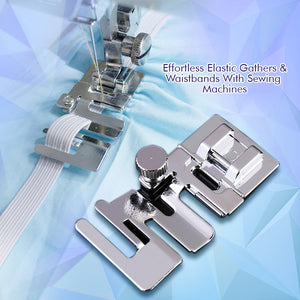 Fully-Adjustable Edge Stitcher Foot
