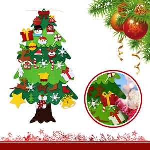 HoliDecor DIY Felt Christmas Tree Set