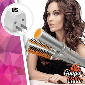 2-In-1 EZCurl Rotating Hair Styler