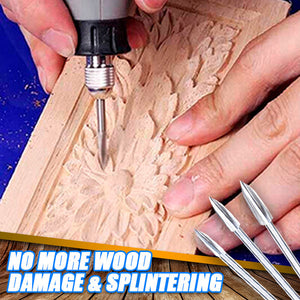 CarveMaster's Hi-Speed Woodworking Drill Bits