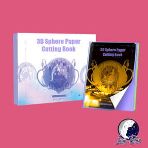 3D Sphere Paper Cutting Book
