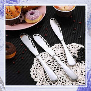 3-in-1 KitchenPRO Butter Spreader Knife