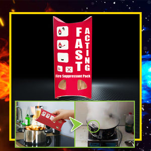 Fast Acting Fire Suppressant Pack