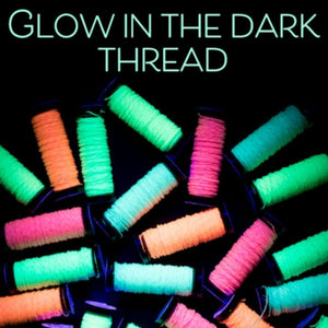 Glow-In-The-Dark Sewing Thread