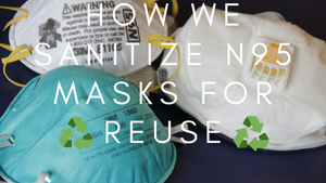 How we Sanitize N95 Masks for Reusable: National Institute Health Study