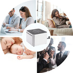 Negative Ion Generator Air Purifier For Home & offices Active Virus & Carbon HEPA Filter