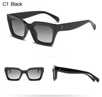 Square Cat Eye Sunglasses Women Retro Brand Design Vintage Sun Glasses For Female Ladies Eyewear UV400