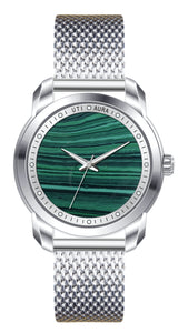 MALACHITE SILVER WHITE