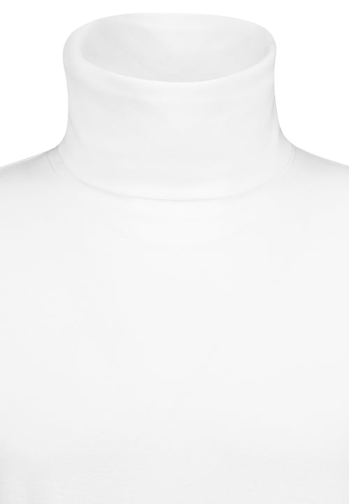 EIGHT 2 NINE Rollkragen Sweatshirt 22000 White H96230W90610BEN