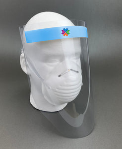 Branded Face Shields : Pack of 90