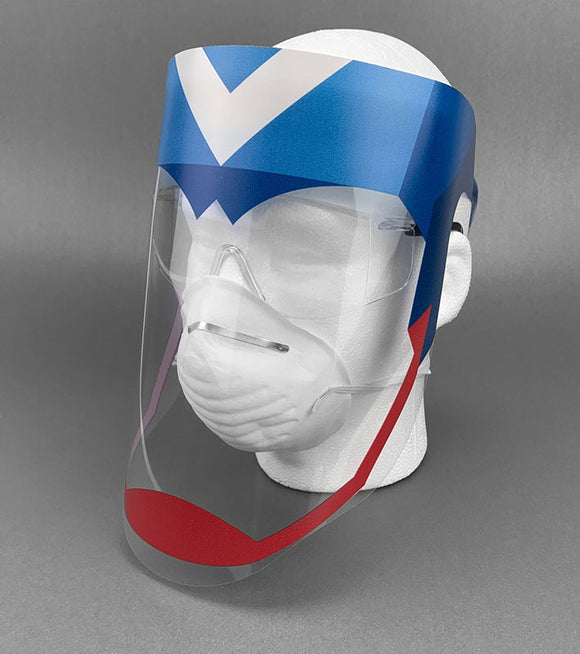 Custom Face Shields: Pack of 100