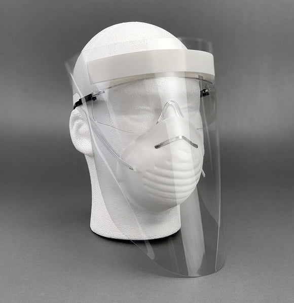 Face Shields: Pack of 90