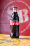 4 X Authentic Coca -Cola  Zero  Glass Bottles (330ml)
